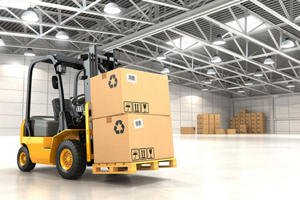Forklift in warehouses